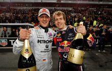 Masih Gagal Juara dengan Ferrari, Sebastian Vettel Kangen Michael Schumacher