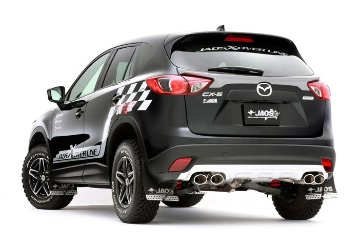 Mazda CX-5 modifikasi ala rally look