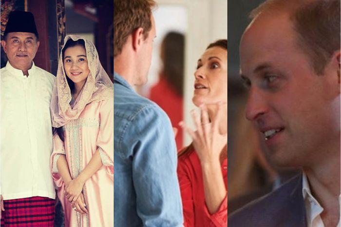 Berita Terpopuler: Pesona Istri Yusril Ihza Mahendra Hingga Pangeran William Sebut Ia dan Istrinya Nakal