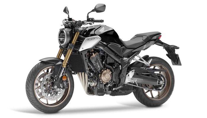 Punya garis desain mirip Honda CB1000R, CB250R dan CB150R ExMotion