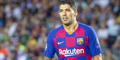 Luis Suarez Tinggalkan Komplek Latihan Barcelona untuk Terakhir Kalinya Sambil Menangis