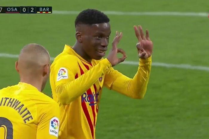 Kata-kata Lionel Messi yang bikin Ilaix Moriba cetak gol bersejarak di Barcelona.