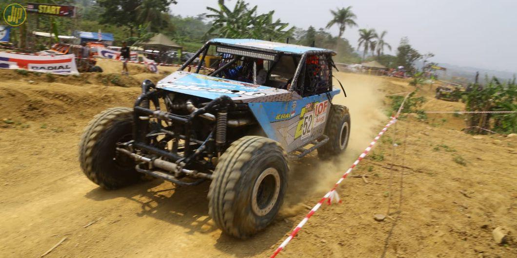 Keseruan Kejurnas Racing Adventure Off-road IOF 2018