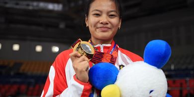 Perolehan Medali Olimpiade Tokyo 2020 - Teriakan Windy Cantika Aisah untuk Indonesia