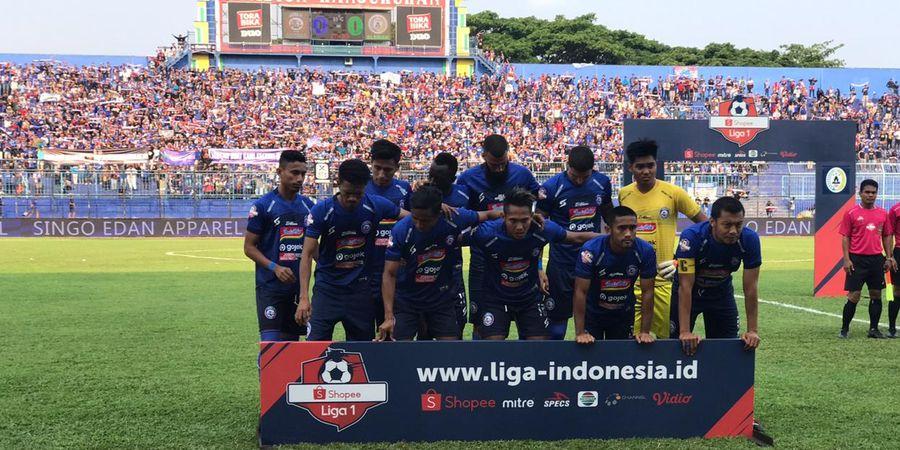 Arema FC Dihadapkan dengan Rentetan Laga Away di Lanjutan Liga 1 2019