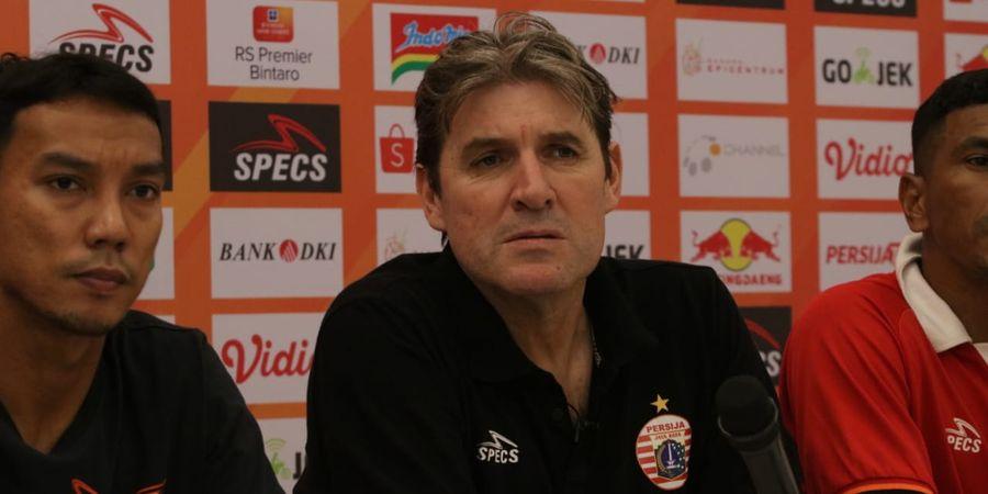 Pelatih Persija Tak Merasa Diuntungkan dengan Absennya 4 Pemain Persebaya