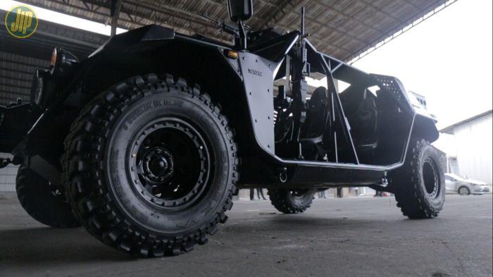 Ban P6 ATAV sudah manfaatkan teknologi Run Flat Tire (RFT)