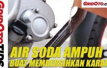 Cuma Modal  Air Soda, Bisa Hilangkan Karat di Komponen Motor?