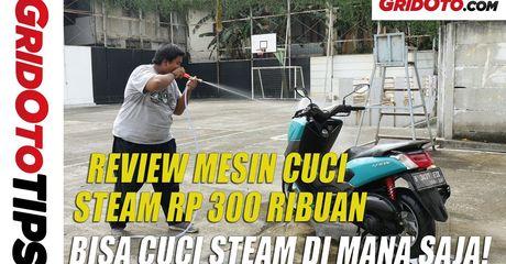 Video Review Mesin Cuci Steam Rp 300 Ribuan, Semburannya Kuat?