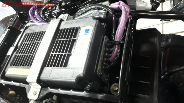 Baterai lithium-ion milik Honda PCX Hybrid