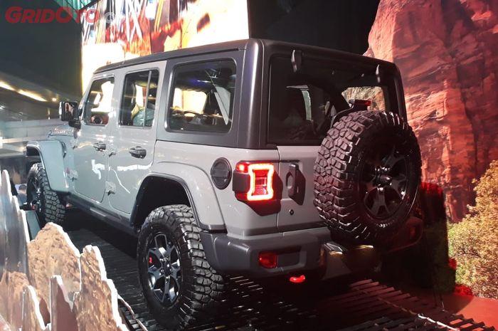 Jeep Wrangler JL diluncurkan di Indonesia