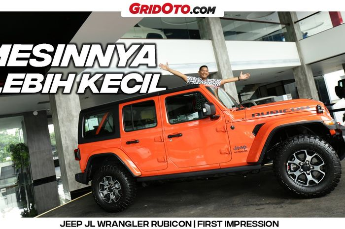 Video First Impression Jeep JL Wrangler Rubicon sudah tayang di kanal YouTube GridOto