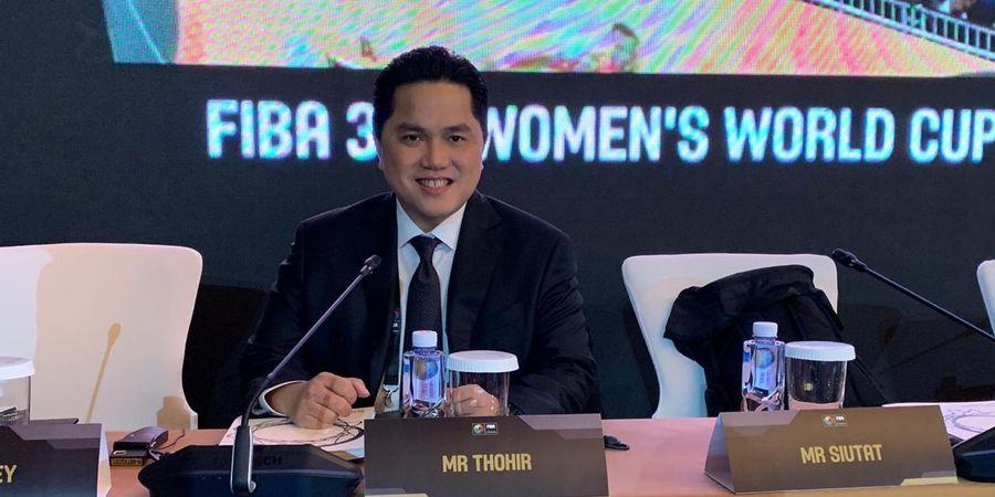 Erick Thohir Jadi Eksekutif Federasi Bola Basket Internasional