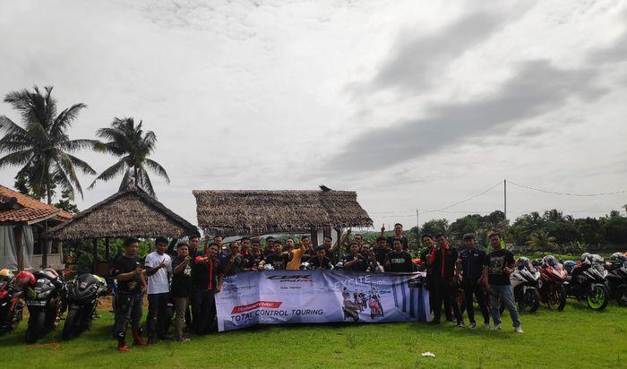 Club CBR Indonesia meramaikan Total Control di Karawang