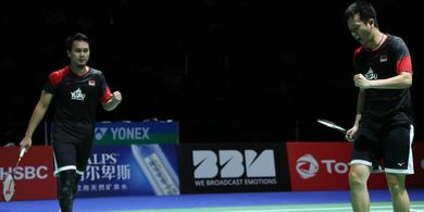Hasil China Open 2019 - Ahsan/Hendra ke Final, Indonesia Pastikan 1 Gelar
