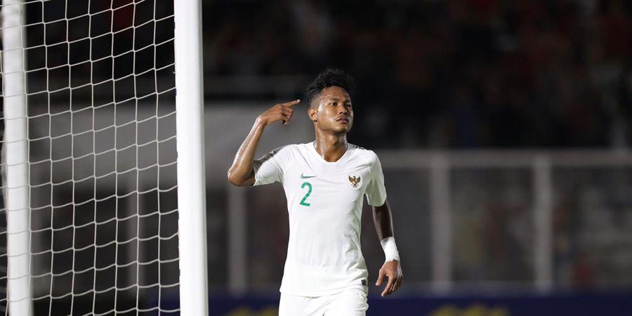 Begini Cara Bek Timnas U-19 Indonesia, Bagas Kaffa Usir Ketegangan Sebelum Berlaga