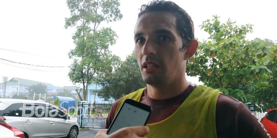 Silvio Escobar Kesal dengan Keputusan Pelatih Persija Ivan Kolev
