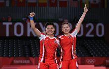 Medali Emas Greysia/Apriyani Dongkrak Peringkat Indonesia di Klasemen Medali Olimpiade Tokyo 2020