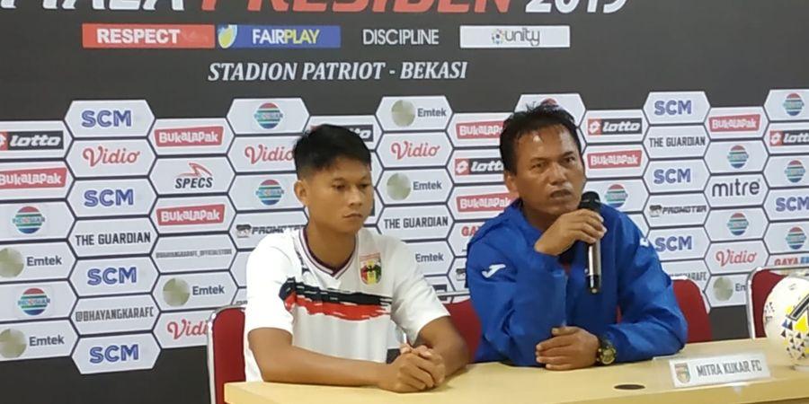Kalah Telak, Mitra Kukar Akui Tak Siap Hadapi Bali United