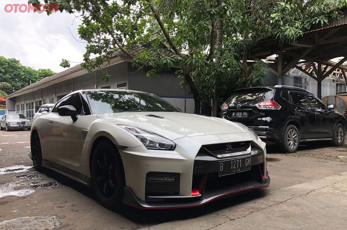 Nissan GTR R35 Nismo 2017 Satu-Satunya di Indonesia