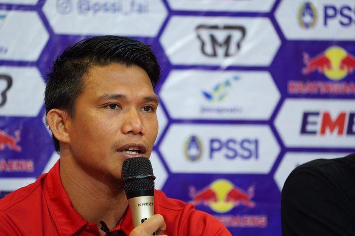 Pemain  Jakarta, Sandi Darman Sute alias Sandi Sute, Jumat (5/7/2019).