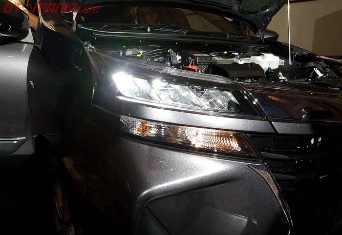 Lampu Utama LED yang Sudah Menjadi Standar di Seluruh Varian Toyota Avanza dan Veloz Terbaru