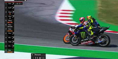 MotoGP San Marino 2019 - Soal Insiden, Marquez Tak Paham Maksud Rossi