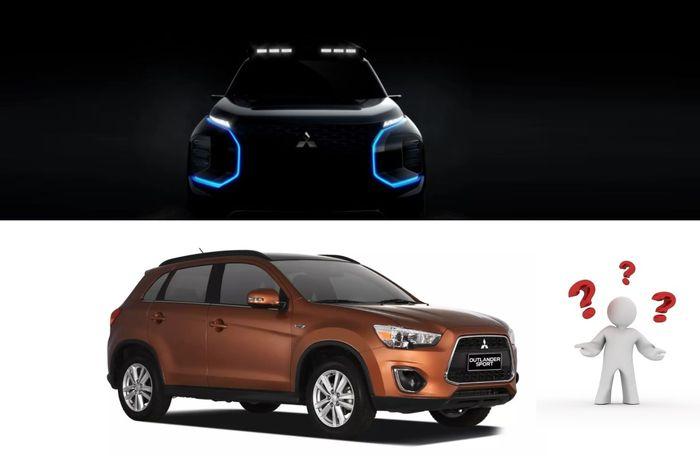 Teaser Mitsubishi mungkinkan akan dipakai sebagai desasin Outlander baru?