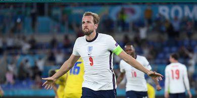 EURO 2020 - 1 Gol ke Gawang Denmark Bawa Harry Kane Saingi Gary Lineker dan Bayangi Cristiano Ronaldo