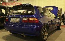 Honda Civic Estilo Ganti Mesin Type R, Tenaga Tembus 306 DK