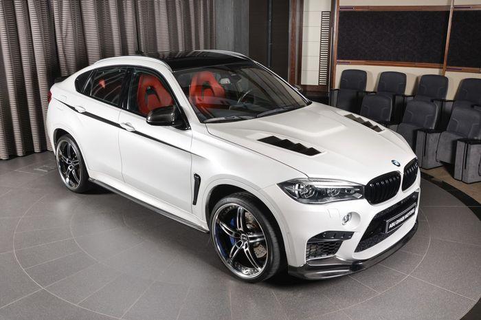BMW X6M pakai body kit sera karbon dari 3D Design