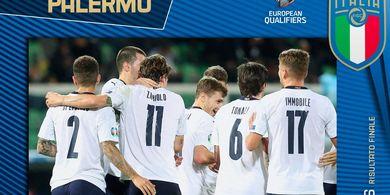 Mancini Antar Italia Raih Kesempurnaan Pertama Sepanjang Sejarah