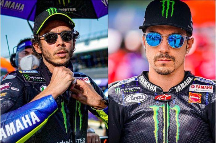 Performa duo pembalap Monster Energy Yamaha, Valentino Rossi dan Maverick Vinales di FP1 MotoGP Emilia Romagna 2020 kurang memuaskan.