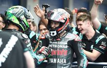motogp catalunya 2019 - raih pole position, quartararo 'speechless'