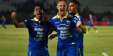 Persib Bandung Petik Kemenangan Telak atas Arema FC