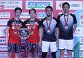 Ranking BWF Terbaru Usai Kejuaraan Dunia 2019 -The Daddies Belum Geser Marcus/Kevin, Ganda Putra Jepang Melesat 4 Peringkat