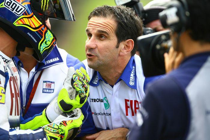 Davide Brivio saat bersama di Valentino Rossi di Yamaha