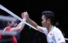 Hasil Singapore Open 2019 - Anthony Ginting Tuntaskan Balas Dendam