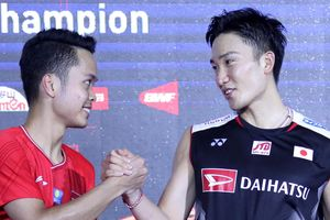 Kento Momota Berpeluang Kuat Menangi Male Player of the Year 2019