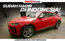 Out Now! Video First Impression Super SUV -nya Lamborghini, Urus