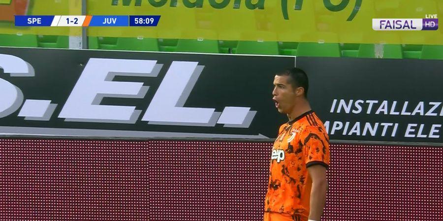 Hasil Liga Italia - Cristiano Ronaldo Bikin Brace via Gol Cepat dan Panenka, Juventus Gulung Spezia 4-1