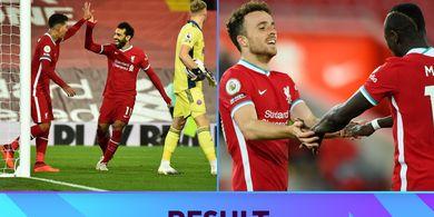 Hasil dan Klasemen Liga Inggris - Manchester United ke Peringkat 15, Liverpool Samai Poin Pemuncak