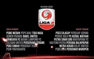 Jadwal Pekan Pertama Liga 2 2020, 3 Derbi Menarik Akan Tersaji