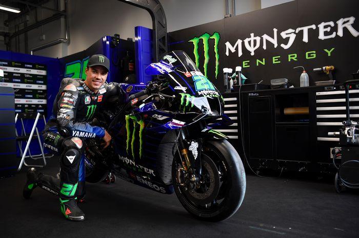 Franco Morbidelli, pembalap MotoGP anyar dari tim Monster Energy Yamaha.