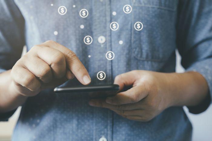 Ilustrasi Pengguna Platform Fintech atau Pinjaman Online