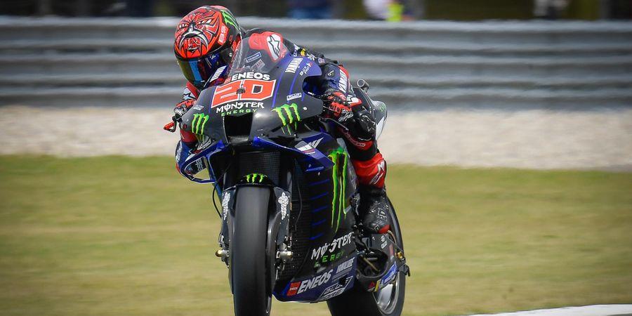 Bos Yamaha Bocorkan Penyebab Fabio Quartararo Kesetanan di MotoGP 2021