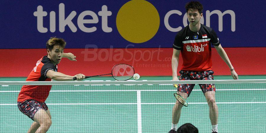 Indonesia Open 2019 - Menguasai Diri dan Lawan, Marcus/Kevin Bertemu Hendra/Ahsan di Final
