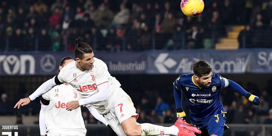 Dua Gol Langka Cristiano Ronaldo di Kandang Olympique Lyon