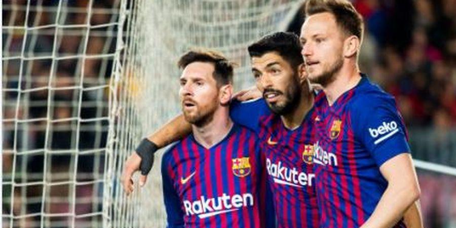 Susunan Pemain Barcelona Vs Lyon - Menunggu 1 Gol Lionel Messi