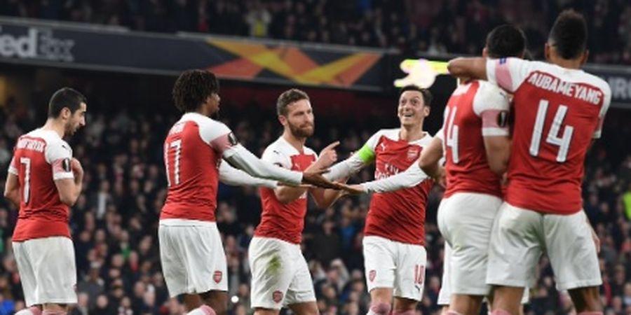 Starting XI Arsenal Vs Napoli - Arsenal Ditantang Dua Striker Mungil